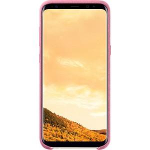 Samsung Alcantara púzdro EF-XG955APE pre Galaxy S8+ Pink