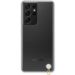 Samsung priehľadný ochranný kryt EF-GG998CWE pre S21Ultra, biele