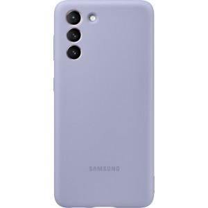 Samsung silikónový zadný kryt EF-PG991TVE pre S21, fialové
