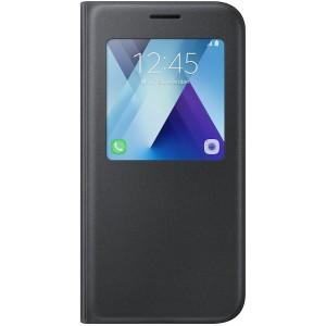 Samsung S View púzdro EF-CA520PB pre Galaxy A5 2017 Čierne