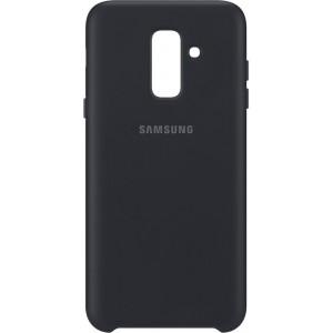 Samsung dvojvrstvový zadný ochranný kryt EF-PA605CB pre Samsung Galaxy A6+ Čierny