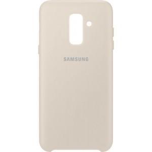 Samsung dvojvrstvový zadný ochranný kryt EF-PA605CF pre Samsung Galaxy A6+ Zlatý