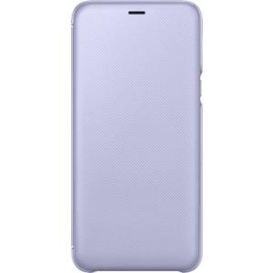 Samsung flipové púzdro EF-WA605CV pre Samsung Galaxy A6+ FIalové