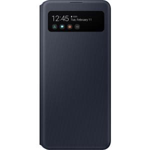 Samsung S View púzdro EF-EA415PB pre Galaxy A41, čierne