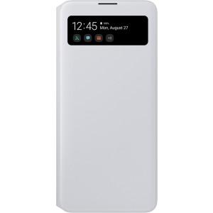 S View púzdro pre Galaxy A71, biele