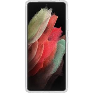 Samsung priehľadný zadný kryt so stojankom EF-JG998CTE pre S21Ultra, transparentné