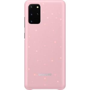 Samsung EF-KG985CP LED Cover pre Galaxy S20+, ružové