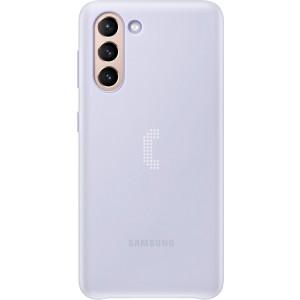 Samsung zadný kryt s LED diódami EF-KG991CVE pre S21, fialové