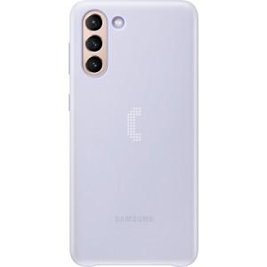 Samsung zadný kryt s LED diódami EF-KG996CVE pre S21+, fialové