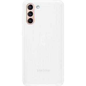 Samsung zadný kryt s LED diódami EF-KG996CWE pre S21+, biele