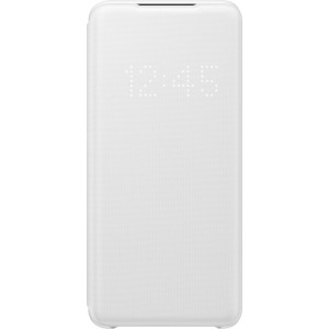 Samsung EF-NG980PW LED View cover pre Galaxy S20, biely