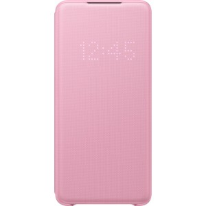 Samsung EF-NG985PP LED View cover pre Galaxy S20+, ružové