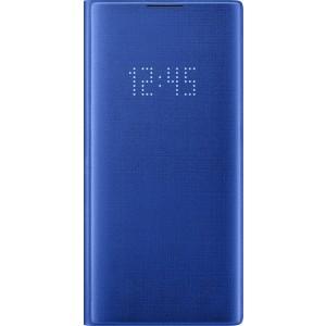 Flipové puzdro LED View pre Galaxy Note10+, modré