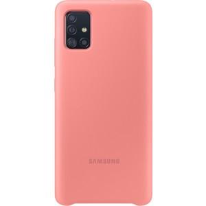 Silikónové púzdro pre Galaxy A51, ružové