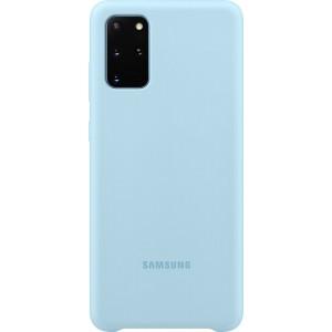 Samsung EF-PG985TL Silicone Cover pre Galaxy S20+, modré