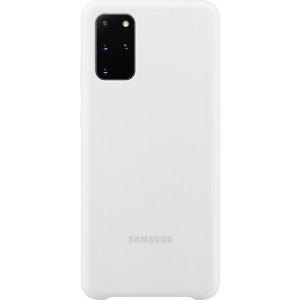 Samsung EF-PG985TW Silicone Cover pre Galaxy S20+, biele