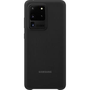 Samsung EF-PG988TB Silicone Cover pre Galaxy S20 Ultra, čierne