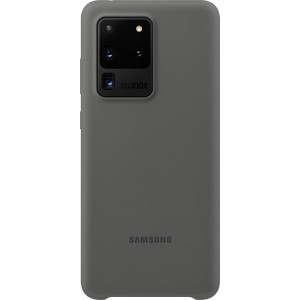 Samsung EF-PG988TJ Silicone Cover pre Galaxy S20 Ultra, šedé