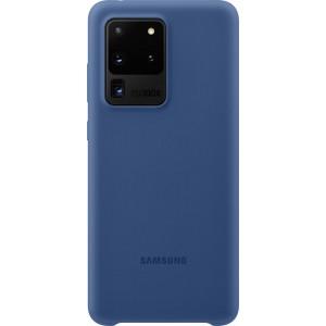 Samsung EF-PG988TN Silicone Cover pre Galaxy S20 Ultra, tmavo modré