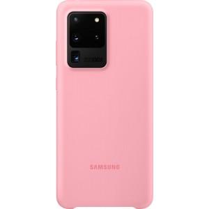 Samsung EF-PG988TP Silicone Cover pre Galaxy S20 Ultra, ružové