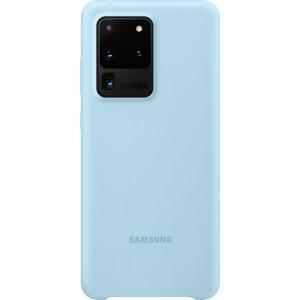 Samsung EF-PG988TL Silicone Cover pre Galaxy S20 Ultra, modré