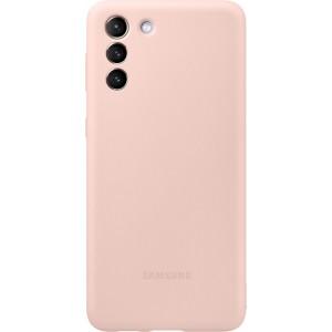 Samsung silikónový zadný kryt EF-PG996TPE pre S21+, ružové