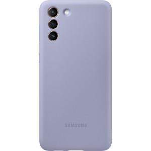 Samsung silikónový zadný kryt EF-PG996TVE pre S21+, fialové
