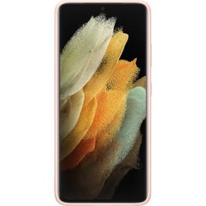 Samsung silikónový zadný kryt EF-PG998TPE pre S21Ultra, ružové