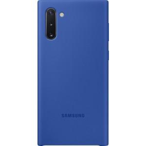 Silikónový zadný kryt pre Galaxy Note10, modrý