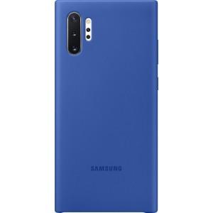 Silikónový zadný kryt pre Galaxy Note10+, modrý