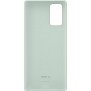 Samsung EF-PN980TM Silicone Cover pre Galaxy Note20, slabozelené