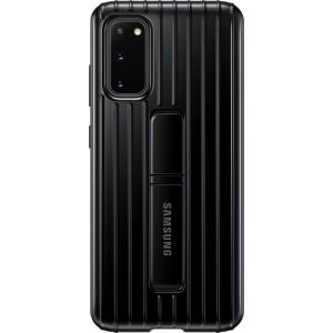 Samsung EF-RG980CB Protective Standing Cover pre Galaxy S20, čierne