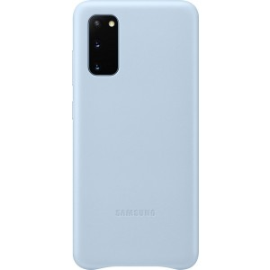 Samsung EF-VG980LL Leather Cover pre Galaxy S20, modré