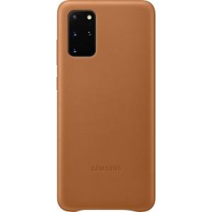 Samsung EF-VG985LA Leather Cover pre Galaxy S20+, hnedé