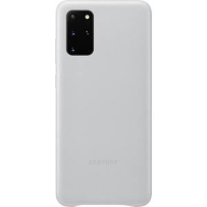 Samsung EF-VG985LS Leather Cover pre Galaxy S20+, svetlo šedé