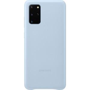 Samsung EF-VG985LL Leather Cover pre Galaxy S20+, modré