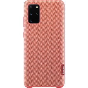 Samsung EF-XG985FR Kvadrat Cover Recycled pre Galaxy S20+, červené