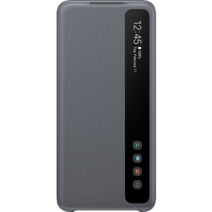 Samsung EF-ZG980CJ Clear view cover pre Galaxy S20, šedé