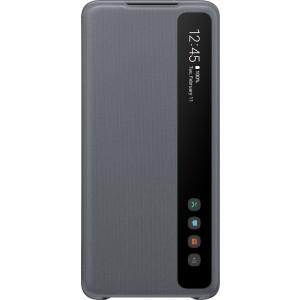 Samsung EF-ZG985CJ Clear view cover pre Galaxy S20+, šedé