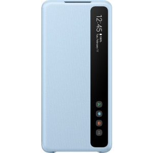 Samsung EF-ZG985CL Clear view cover pre Galaxy S20+, modré