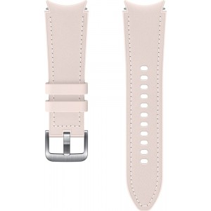 Samsung hybridný kožený remienok (20 mm, veľkosť S/M) pre Watch4 Classic 42mm, ružový