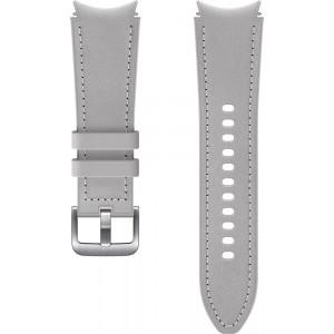 Samsung hybridný kožený remienok (20 mm, veľkosť S/M) pre Watch4 Classic 42mm, šedý