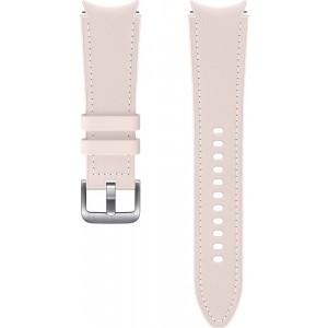 Samsung hybridný kožený remienok (20 mm, veľkosť M/L) pre Watch4 Classic 46mm, ružový