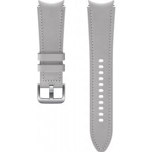 Samsung hybridný kožený remienok (20 mm, veľkosť M/L) pre Watch4 Classic 46mm, šedý