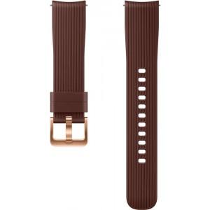Silicone Band 20mm (Galaxy Watch), hnedý