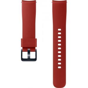 Silicone Band 20mm (Galaxy Watch), červený