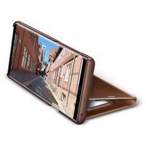 Samsung Clear View púzdro EF-ZN960CA pre Galaxy Note9 Hnedé