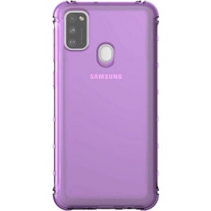 Samsung priehladný zadný kryt GP-FPM215KDAEW pre M21, fialové