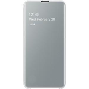 Samsung Clear View púzdro EF-ZG970CW pre Galaxy S10e, biele