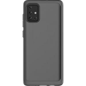 Samsung zadný polopriehladný kryt GP-FPA715KD pre Galaxy A71, čierne